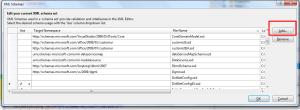 Manage XML Schemas